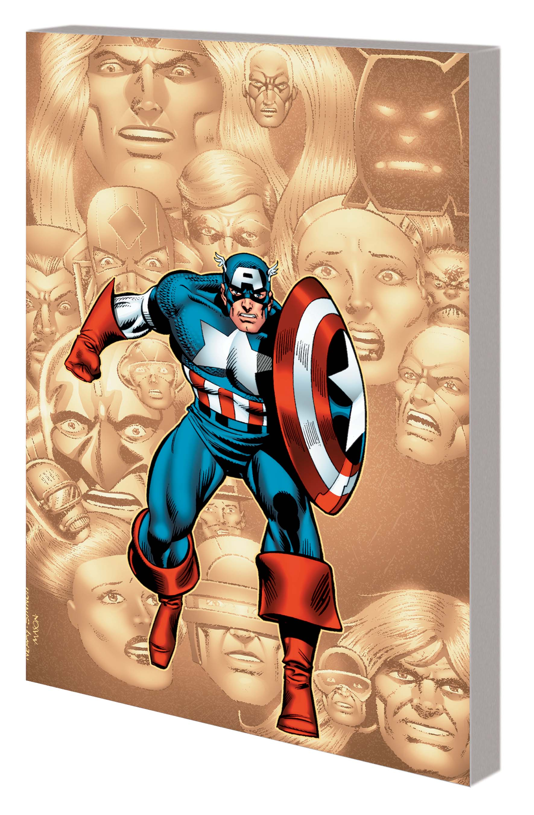 CAPTAIN AMERICA: SCOURGE OF THE UNDERWORLD TPB (Trade Paperback)