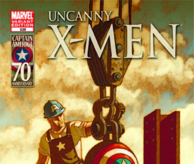 Uncanny X-Men (2010) #539, I Am Captain America