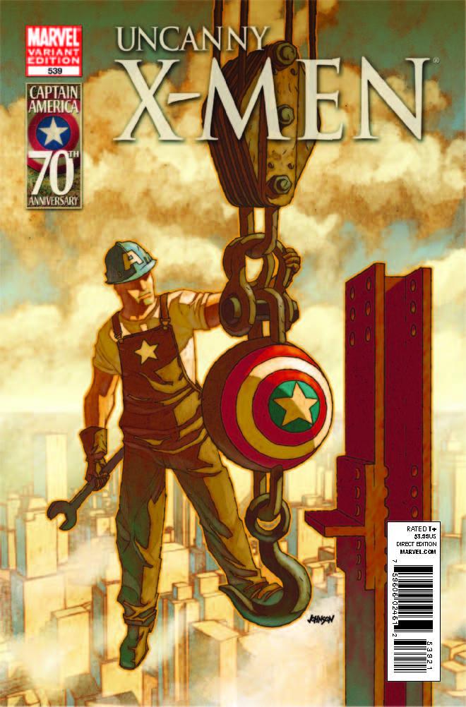 Uncanny X-Men (1963) #539 (I Am Captain America)