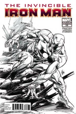 Invincible Iron Man #508  (Sketch Variant)