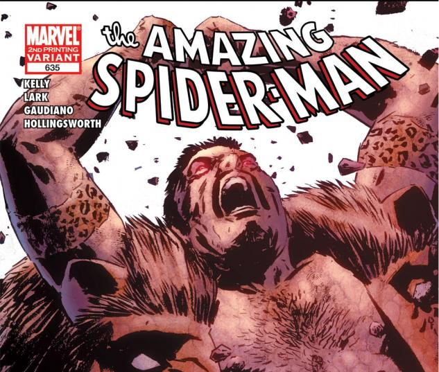 Amazing Spider-Man (1999) #635, 2nd Printing Variant