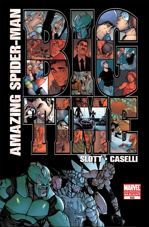 Amazing Spider-Man (1999) #652 (2nd Printing Variant)