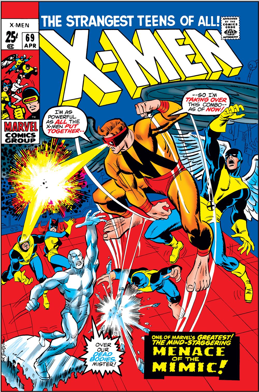 Uncanny X-Men (1963) #69