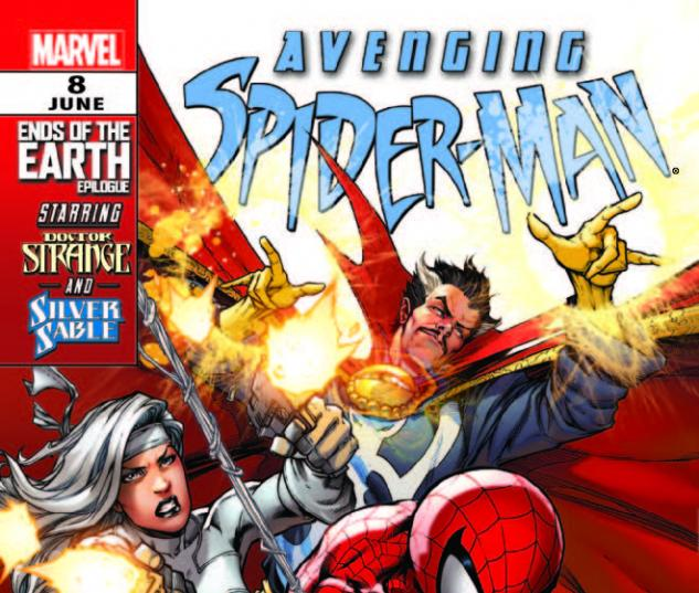 AVENGING SPIDER-MAN 8 (WITH DIGITAL CODE)