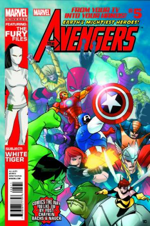 Marvel Universe Avengers: Earth's Mightiest Heroes #5