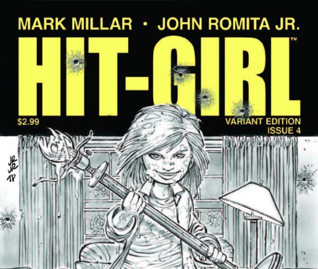 HIT-GIRL 4 JRJR SKETCH VARIANT