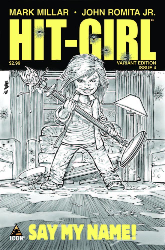 Hit-Girl (2012) #4 (Jrjr Sketch Variant)