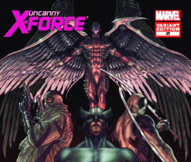 UNCANNY X-FORCE 35 BIANCHI VARIANT (1 FOR 50, WITH DIGITAL CODE)