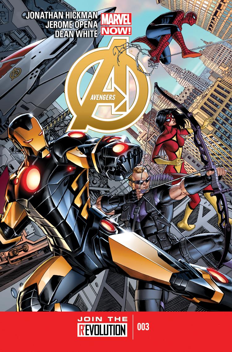 Avengers (2012) #3