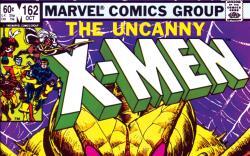 Uncanny X-Men (1963) #162 Cover