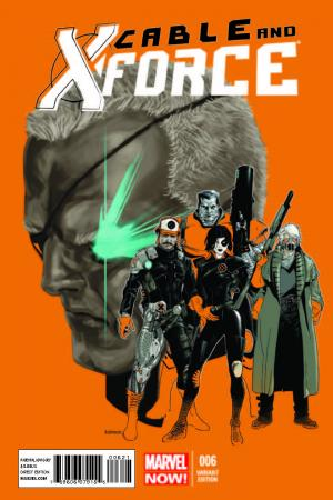 Cable and X-Force (2012) #6 (Andrasofsky Variant)