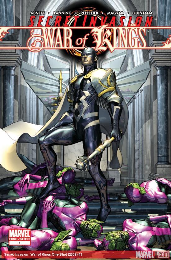 Secret Invasion: War of Kings (2009) #1