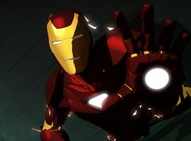 Iron Man down but not out in Iron Man: Armored Adventures
