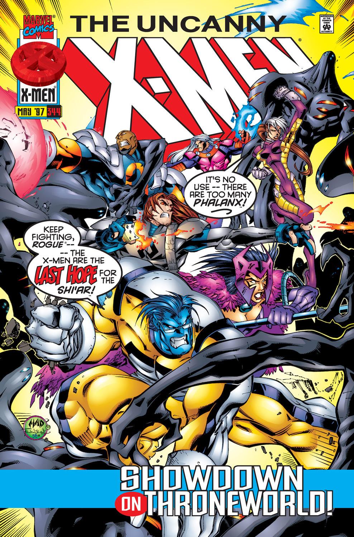 Uncanny X-Men (1963) #344