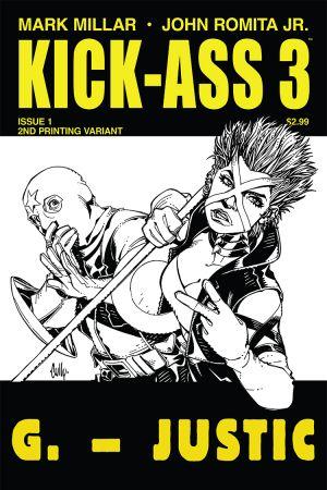 Kick-Ass 3 (2013) #1 (Hamner 2nd Printing Variant)