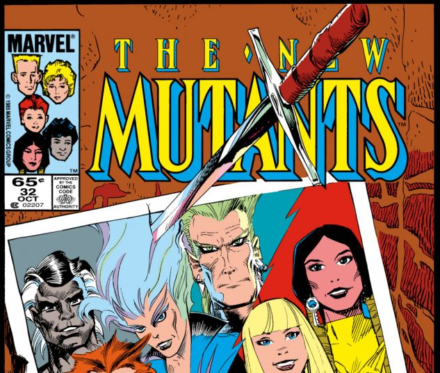 New Mutants (1983) #32 Cover