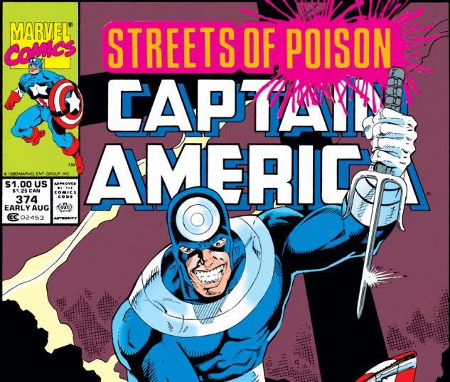 Captain America (1968) #374 Cover