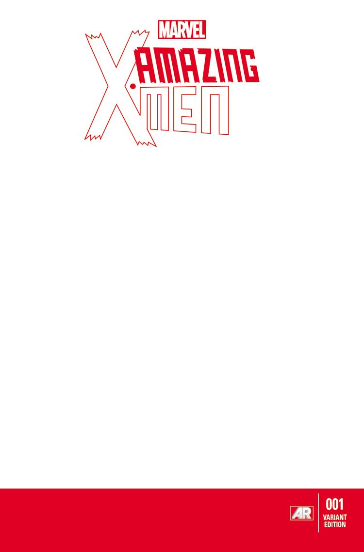 Amazing X-Men (2013) #1 (Blank Cover Variant)