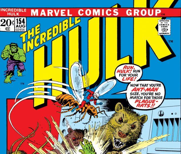 Incredible Hulk (1962) #154 Cover
