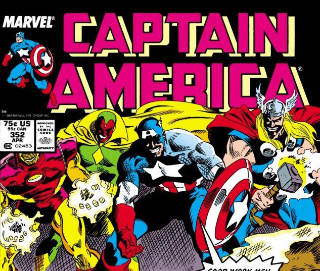 Captain America (1968) #352 Cover