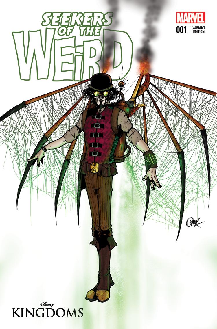 Disney Kingdoms: Seekers of the Weird (2014) #1 (Crosby Imagineer Variant)