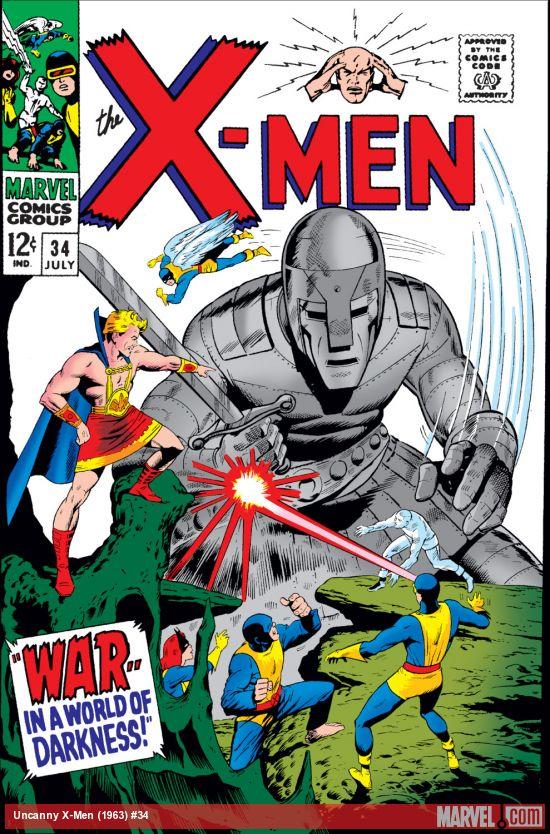 Uncanny X-Men (1963) #34
