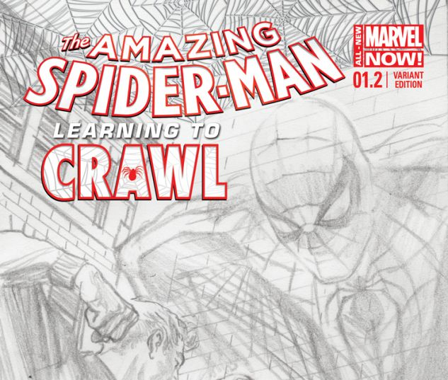 AMAZING SPIDER-MAN 1.2 ROSS SKETCH VARIANT (ANMN, WITH DIGITAL CODE)