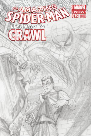 The Amazing Spider-Man (2014) #1.2 (Ross Sketch Variant)