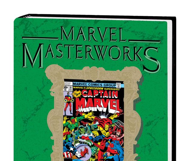 MARVEL MASTERWORKS: CAPTAIN MARVEL VOL. 5 HC VARIANT (DM ONLY)