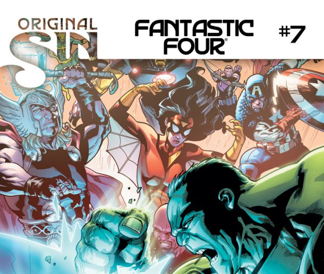 FANTASTIC FOUR 7 (SIN, WITH DIGITAL CODE)