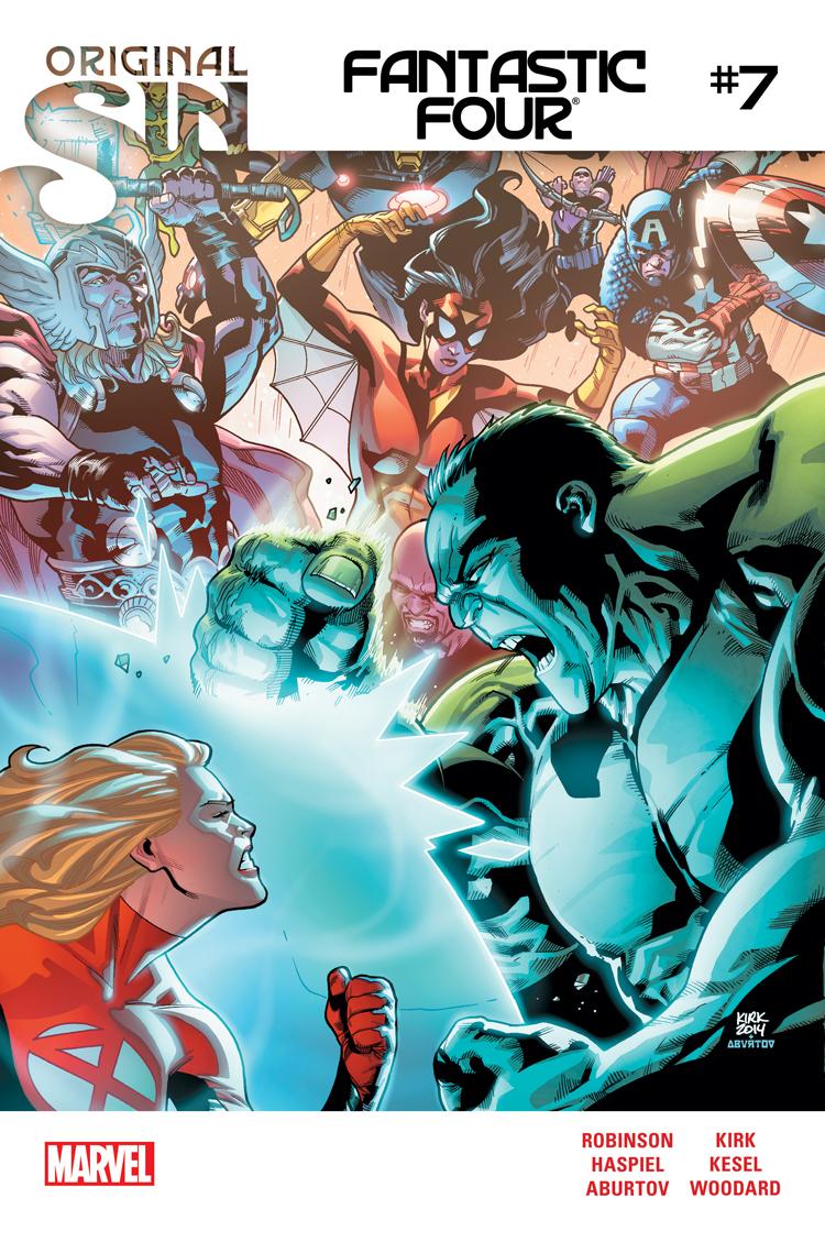 Fantastic Four (2014) #7