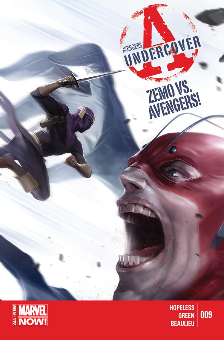 Avengers Undercover (2014) #9