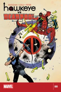 Hawkeye vs Deadpool #0