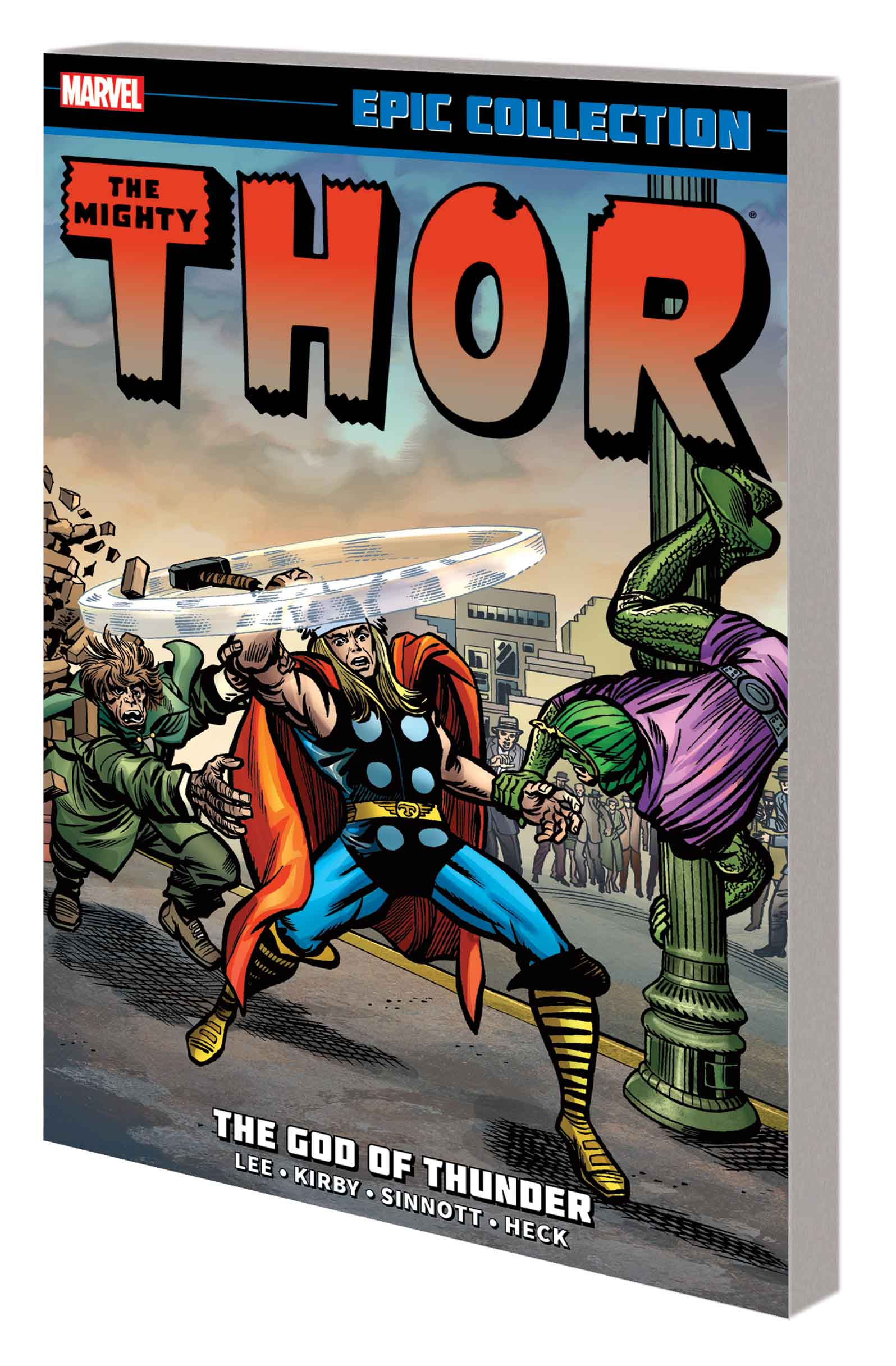 Thor Epic Collection: The God of Thunder (Trade Paperback)