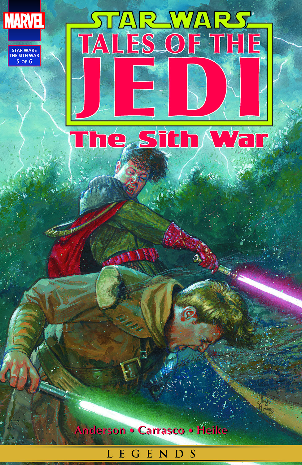 Star Wars: Tales Of The Jedi - The Sith War (1995) #5