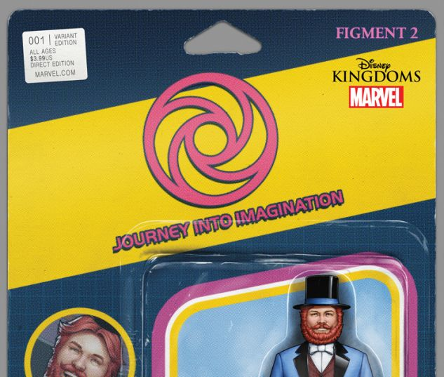 FIGMENT 2 1 CHRISTOPHER ACTION FIGURE VARIANT (WITH DIGITAL CODE)