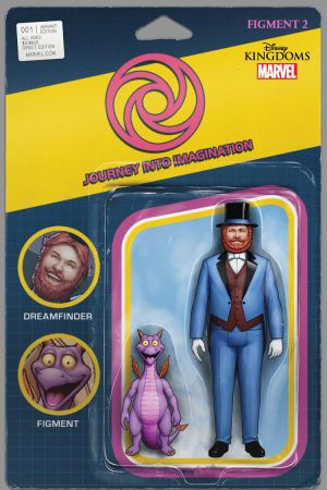Figment 2 (2015) #1 (Christopher Action Figure Variant)
