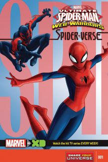 Marvel Universe Ultimate Spider-Man Spider-Verse #1
