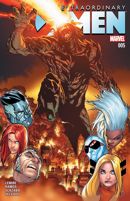 Extraordinary X-Men (2015) #5