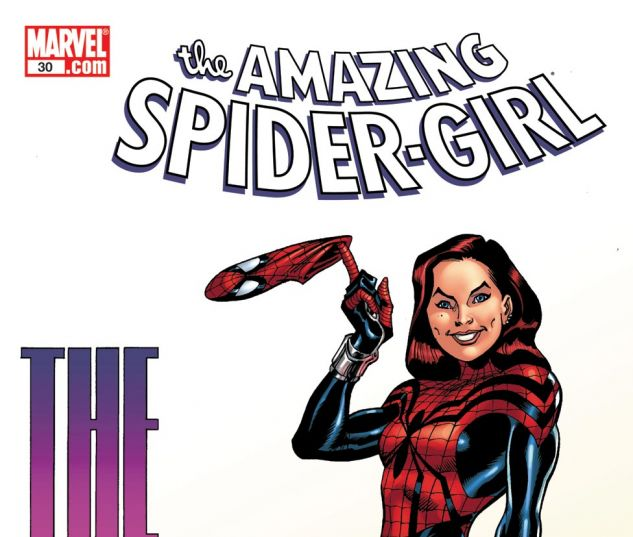 AMAZING SPIDER-GIRL (2006) #30 Cover