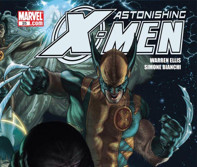 ASTONISHING X MEN 2004 25 Cover