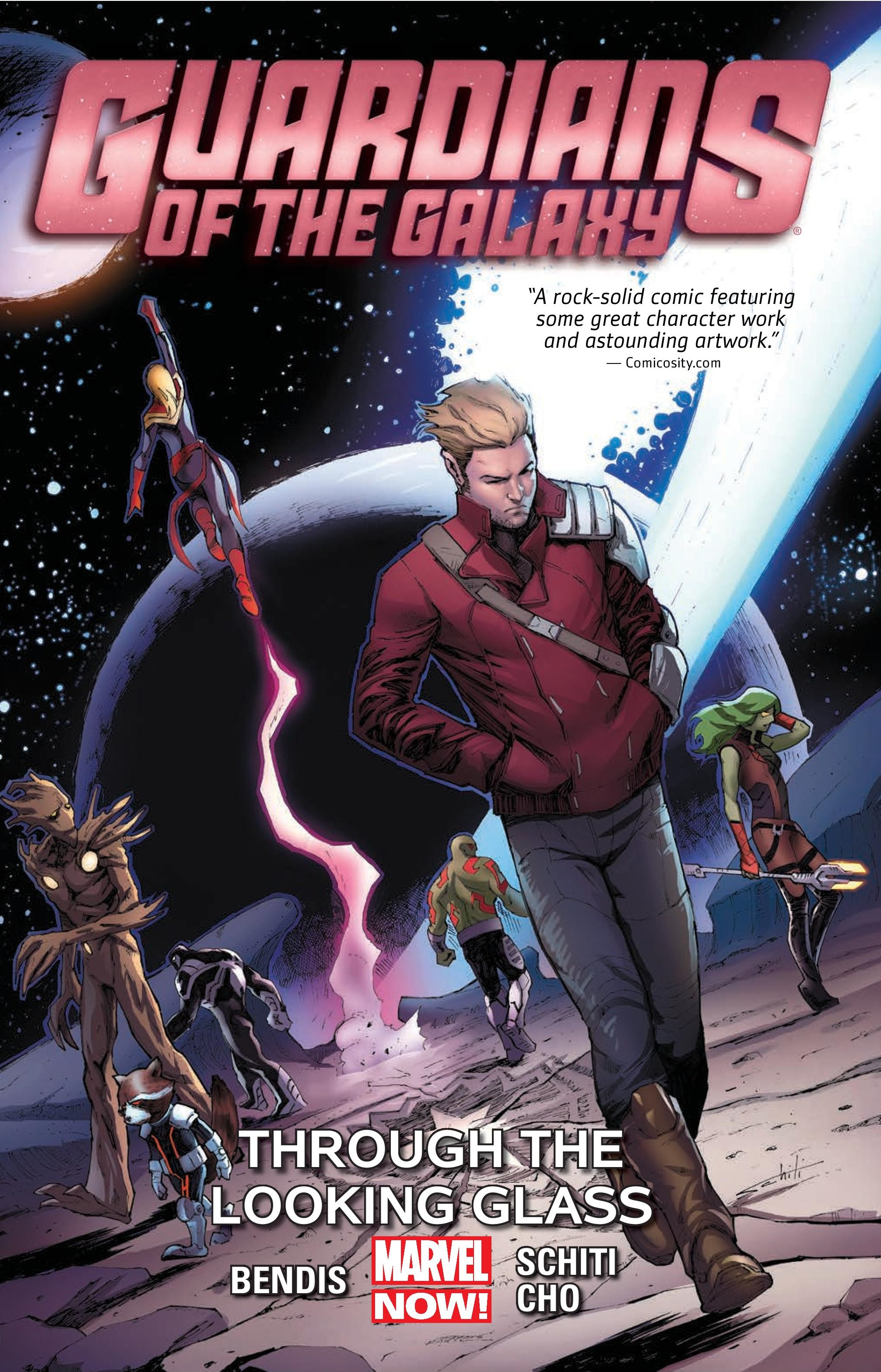 Guardians of the Galaxy Vol. 5: Through the Looking Glass (Trade Paperback)
