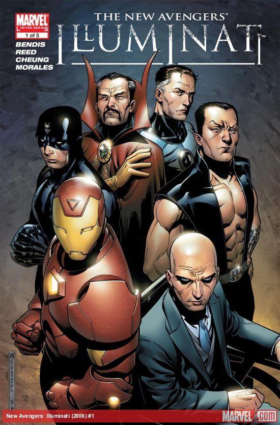 New Avengers: Illuminati (2006) #1