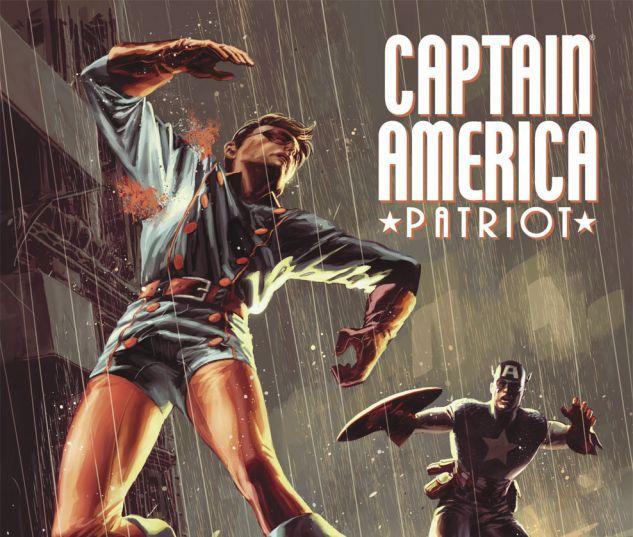 CAPTAIN AMERICA: PATRIOT (2010) #3 Cover