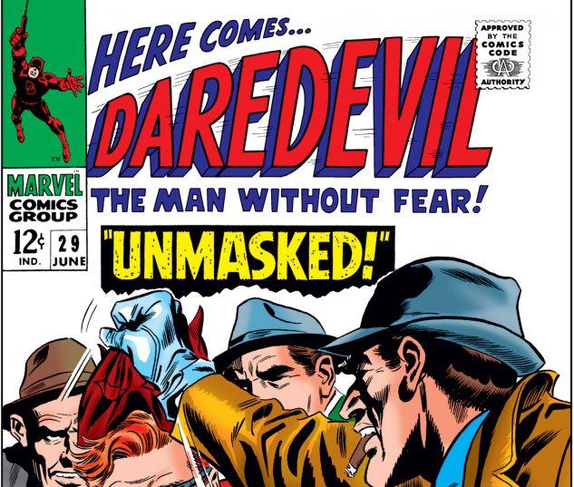 DAREDEVIL (1964) #29 Cover