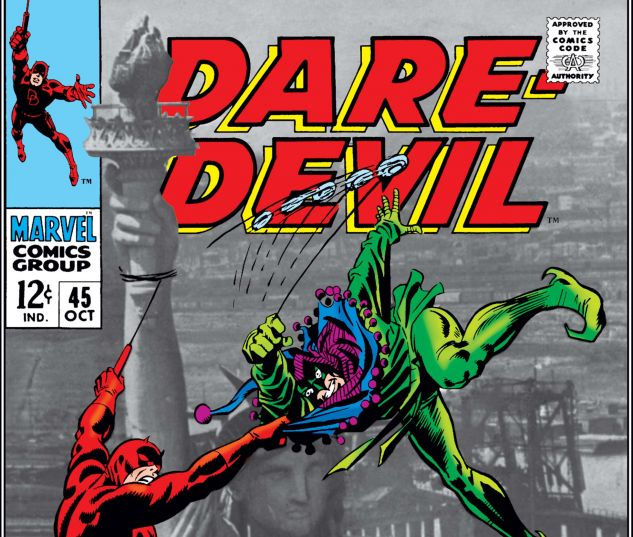 DAREDEVIL (1964) #45 Cover