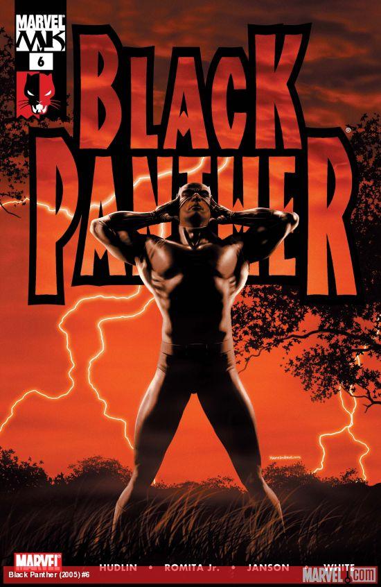 Black Panther (2005) #6