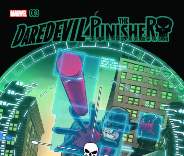 cover from Daredevil/Punisher (2016) #3