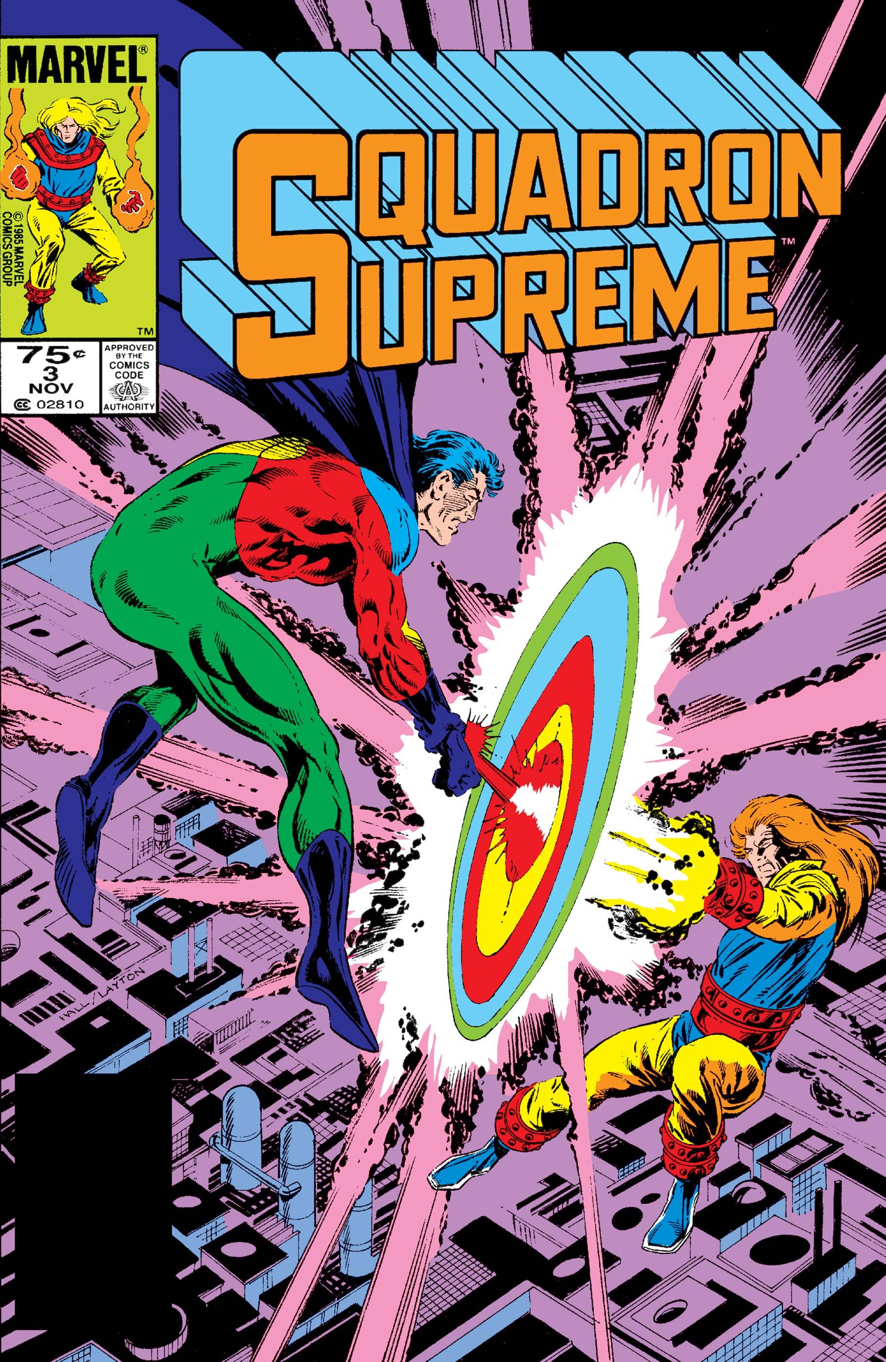 Squadron Supreme (1985) #3