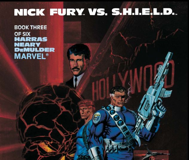 Nick Fury VS. S.H.I.E.L.D. (1988) #3